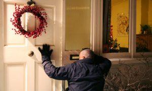 burglar christmas