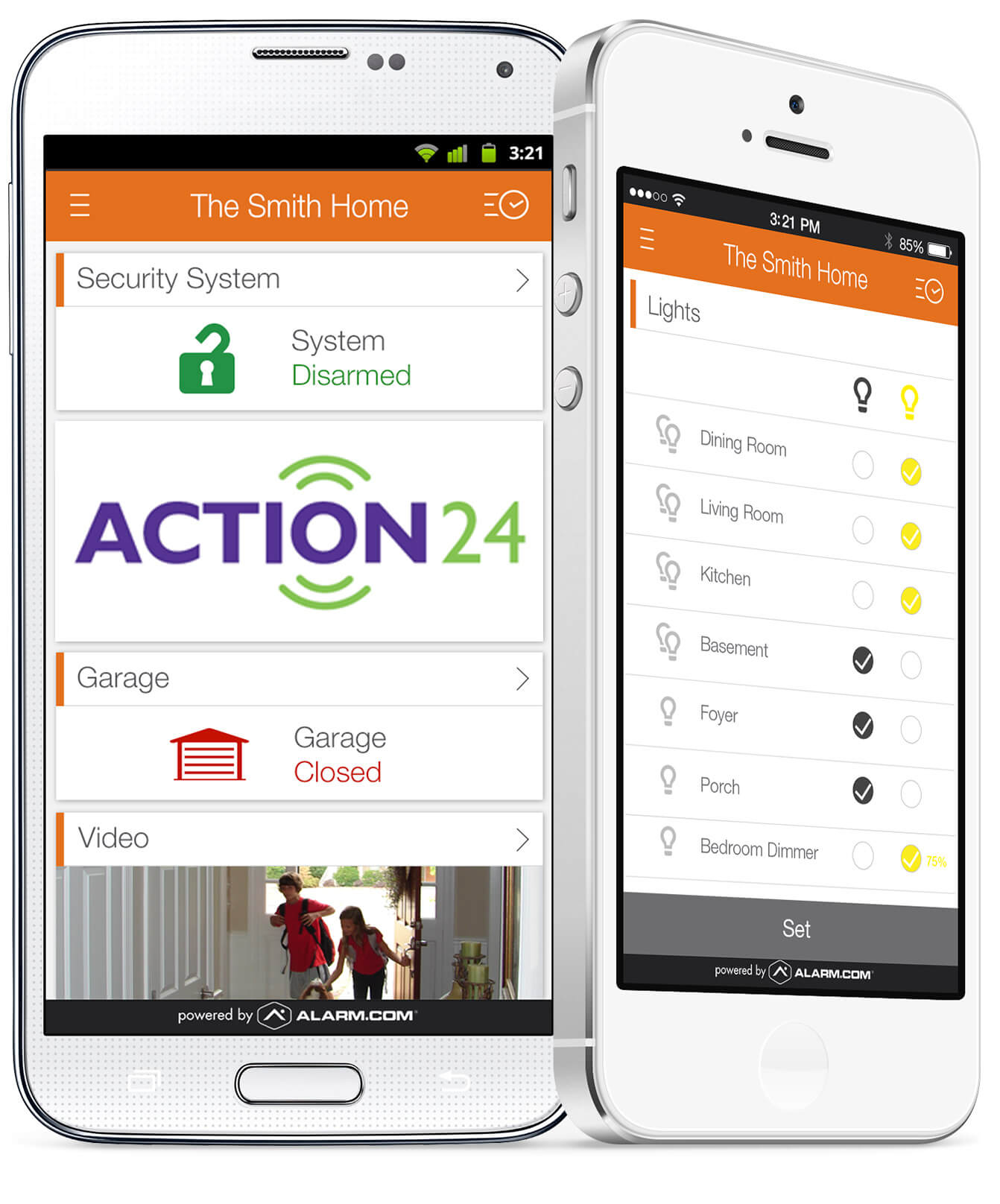 Smartphone Surveillance Camera App