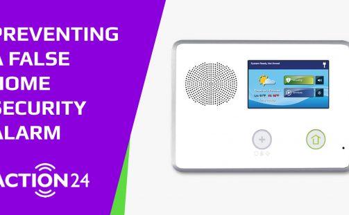 Preventing A False Home Security Alarm