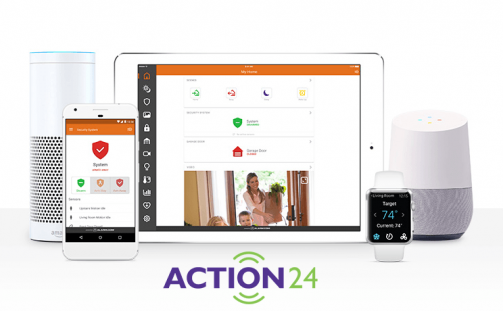 Top 5 reasons to choose an Action24 alarm system….